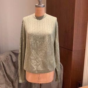 Fedeli Cashmere Green Sweater